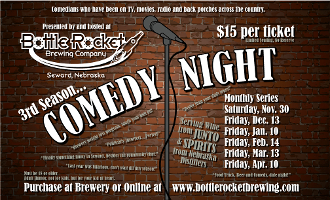 Bottle Rocket Brewing Company Comedy Night